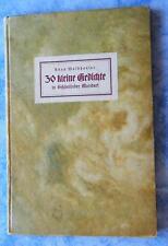 Anna Waldhauser 30 kleine Gedichte in Schönlinder Mundart Lyrik Böhmen 1939