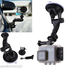 Car Windshield Suction Cup Mount Holder+Tripod Adapter for GoPro Hero 1 2 3 3+