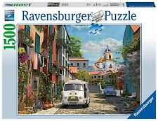 NEW! Ravensburger Idyllic South of France 1500 piece scenic jigsaw puzzle