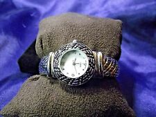 Woman's Quartz Cuff Watch with Mother of Pearl Face**Beautiful** B20-Box 02