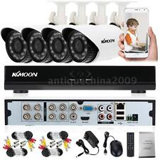 KKMOON 8CH 960H DVR Video Record 700TVL Outdoor CCTV Security Camera System M5P0