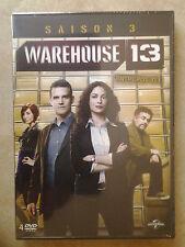 30603//WAREHOUSE 13 SAISON 3 COFFRET 4 DVD NEUF SOUS BLISTER