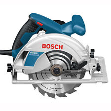 BOSCH gks190 190mm Hand Held CIRCOLARE SAW 240v con lama TCT & Custodia