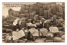 Giant's Causeway - Wishing Chair Photo Postcard c1910 Portrush
