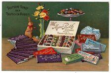 Stuttgart,Moser-Roth Schokolade Bonbon Osterhasen Fabrik Werbe Reklame AK c1915