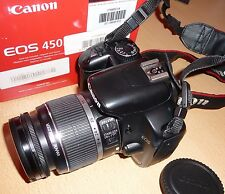 Canon EOS 450D / EOS Digital mit 18-55 mm IS Objektiv