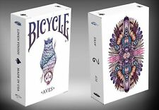 Bicycle Aves Version 2 White Poker Spielkarten
