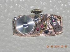 WATCH MOVEMENT cal. FF 59-21, ELGIN 897, 17j non-RUNNING, complete, good bal.