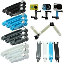3 in 1 Nylon Extension Arm Pole Mount Helmet Set for Gopro HD Hero 4 3+ 3 2 1