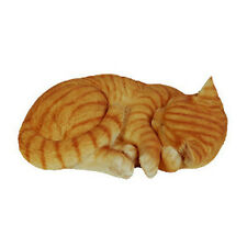 Ginger Sleeping Cat Ornament Vivid Arts XRL-ZC31-B