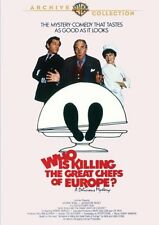 WHO'S KILLING THE GREAT CHEFS OF EUROPE (1978) Region Free DVD - Sealed