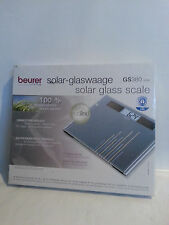 BEURER Design Solar Glaswaage Waage Personenwaage GS380