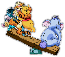 "Winnie the Pooh & Pals Kids Cartoon Car Bumper Window Sticker Decal 5""X4"""