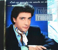 """FRÉDÉRIC FRANCOIS - CD """"EST-CE QUE TU ES SEULE CE SOIR?"""""""