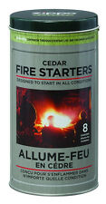 Zippo Outdoors Cedar Fire Starter Tin 44023 New