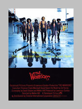 "THE WARRIORS PP SIGNED POSTER 12""X8"" MICHAEL BECK N2"