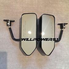 F1 style ABS racing side FENDER mirrors FOR E31 E28 E24 E34 E36 2002i E46 Z3 E90