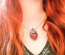 Queen of hearts necklace - Alice in Wonderland - Once Upon A time - Gift