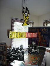 RARE Original Virgin 1994 Rolling Stones Voodoo Lounge Promo Display Vey Cool!
