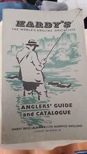 vintage Hardy's Anglers Guide 1958 Catalogue price list and order form .