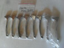USED/NEW GENUINE LOT OF 8 HONDA SILVER MINI BIKE LEVERS