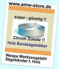 1 Stück Bandsägeblatt 1400x13x0,65mm Bandsägeblatt Westfalia 250W,Atika BS205 -