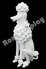 Fiberglass Dummy Mannequin Manikin Pet Dog Display Art Clothes #MD-PDLE-WH