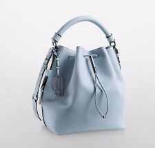 NWT Calvin Klein Galey Saffiano Leather Convertible Drawstring Bucket Bag
