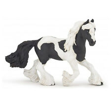 Papo 51550 Irish Cob Black Pinto Mare Horse Model Gypsy Vanner 2016 - NIP