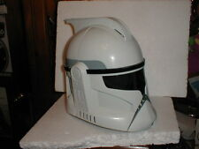Star Wars Clone Wars Clone Trooper Hasbro Electronic Talking Helmet WORKS LOOK!