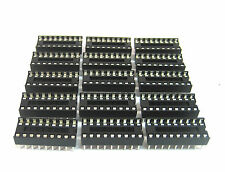 18 Pin Low Profile IC Sockets: 15/Lot: Great Price