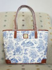 NWT Dooney & Bourke Walt Disney World Toile Shopper Tote Handbag Dumbo Mickey