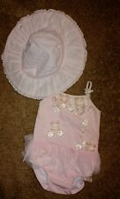 Kate Mack baby girls swimwear and hat Size 24 months. vacation pageant portraits