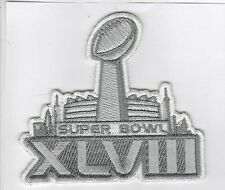 Super Bowl 48 XLVIII Patch Seattle Seahawks Champion Iron On Patch FREE SHIPPING