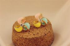 New crystal earrings clover flowers windmill Earrings A091-B Drop Earrings