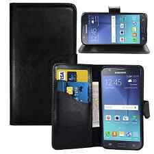 black WALLET Leather STAND Case FOR Samsung Galaxy S2 II GT-I9100 UK FREE POST