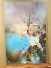 First love 1971 original Vintage Poster 5612