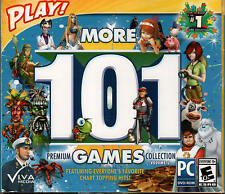 PLAY! MORE 101 PREMIUM GAMES COLLECTION VOLUME 2 Hidden Object +more PC Game NEW