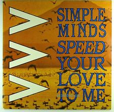 "12"" Maxi - Simple Minds - Speed Your Love To Me (Extended Mix) - M761"