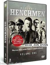 WORLD WAR 2: ADOLF HITLER'S HENCHMEN Vol 1 - TV Series - WWII - NEW DVD UK