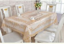 Waterproof 130*180cm PVC Tablecloth Table Cover for Banquet Party Home Decor