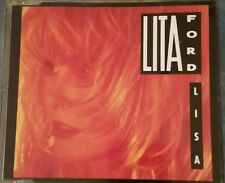 Lita Ford ‎Lisa MCD  RARE 1990 RCA 3 tracks