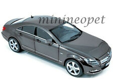 NOREV 183548 2010 10 MERCEDES BENZ CLS 350 1/18 DIECAST MODEL CAR TENORIT GREY