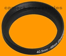 40.5mm to 46mm 40.5-46 Stepping Step Up Filter Ring Adapter 40.5-46mm stepring