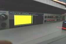 Yamaha Motif Rack Tone Generator - Manual - Disc & Power Supply