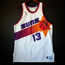 100% Authentic Steve Nash Champion Suns NBA Jersey 48 XL - barkley
