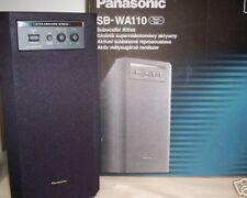 PANASONIC TECHNICS SB-WA110 NEW BLACK HI-FI ACTIVE SUBWOOFER