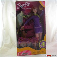 Barbie Scooby Doo Daphne with Scooby Doo dog new in worn box