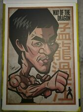 李小龙彩色明信片 Bruce Lee 75th Birthday Pictorial Full Color Post Card #7 Way of Dragon