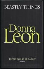Donna Leon - Beastly Things - Proof/ARC
